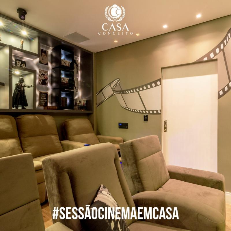 Sessão Cinema em casa