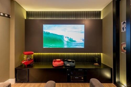 Home theater planejado